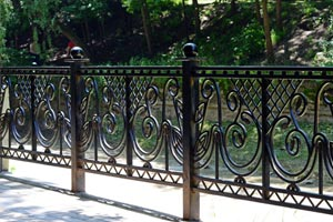 Metal Fence Iron Steel Decorative Fences Wrought