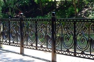 Metal Fence, Iron Decorative Fence & Aluminum Fence in Houston |