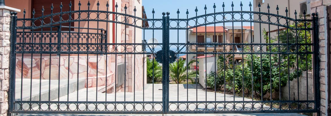 Residential Driveway Gates for Houston Texas Homeowners