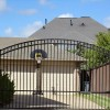 Wrought Iron Driveway Entry Gates
