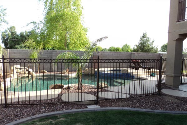 Security Swimming Pool Fence By Art Fences Houston